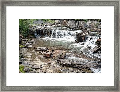 Gallatin River Montana Framed Print by Chellie Bock