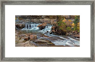 Gallatin River Montana Framed Print by Loree Johnson