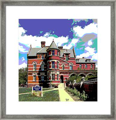 Gallaudet University Framed Print