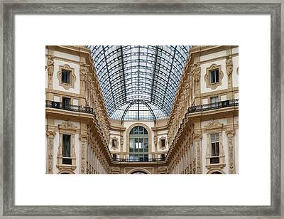 Galleria Details Framed Print by Valentino Visentini