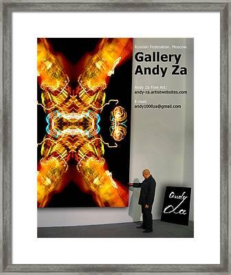 Gallery  Andy Za. Framed Print