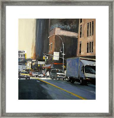 Gallery District Framed Print by Patti Mollica