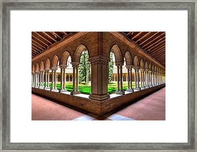 Gallery Insde Eglise Des Jacobins Or Church Of The Jacobins Framed Print