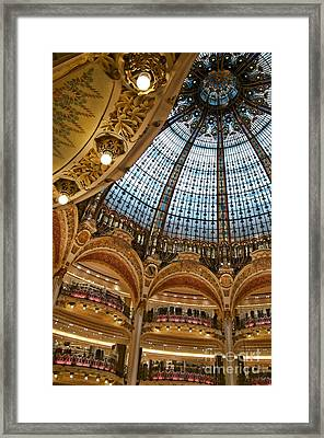 Gallery Lafayette Ceiling IIi Framed Print by Louise Fahy