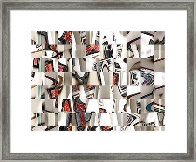 Gallery Of Broken Art Dreams Framed Print by Ann Johndro-Collins
