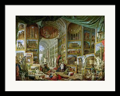 Pantheon Framed Prints
