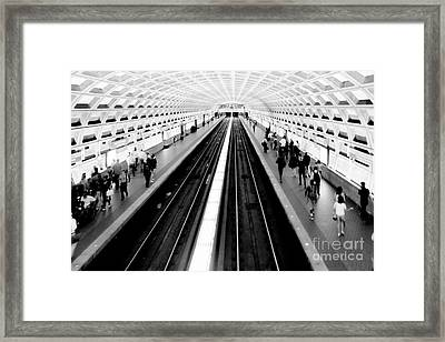 Gallery Place Metro Framed Print