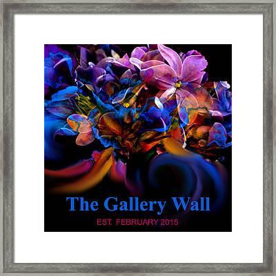 Gallery Wall Logo 2nd Entry Framed Print