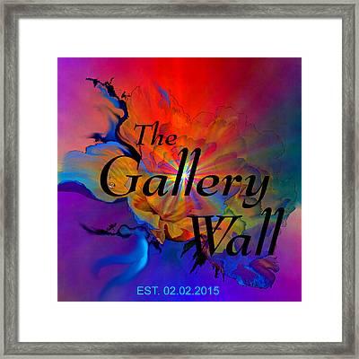 Gallery Wall Logo 5 Framed Print