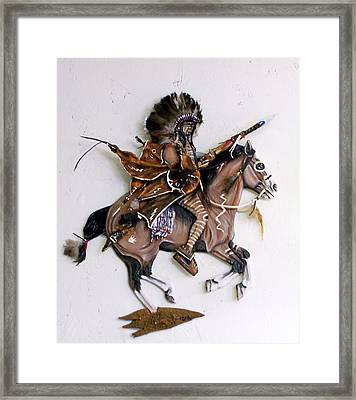 Galloping Along Framed Print by Lilly King
