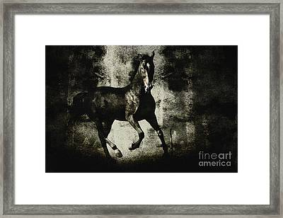 Galloping Horse Artwork Framed Print