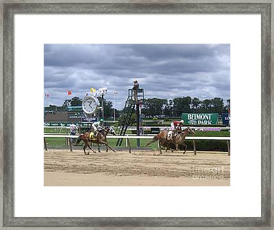 Galloping Out Framed Print
