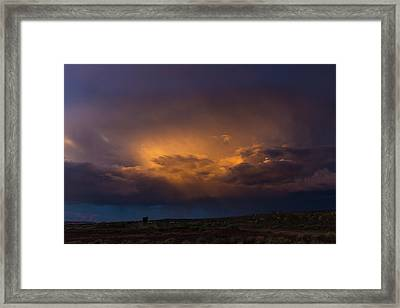 Gallup Dreaming Framed Print