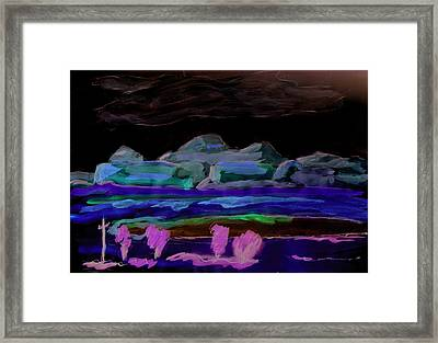 Gallup New Mexico Framed Print by Kevin Callahan
