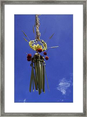Galungan ... Framed Print by Juergen Weiss
