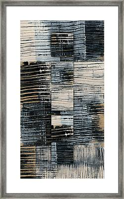 Galvanized Paint Number 1 Vertical Framed Print