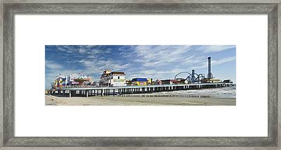 Galveston Pleasure Pier Framed Print