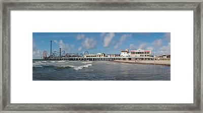 Galveston Pleasure Pier Framed Print
