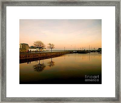 Galway Bay Sunset Framed Print