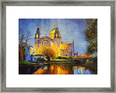 Galway Cathedral, Ireland Framed Print by Conor McGuire