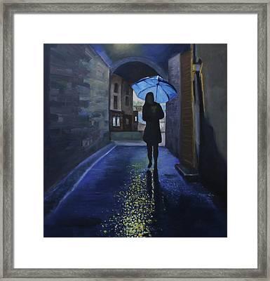 Galway Girl Framed Print