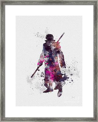 Gambit Framed Print by Rebecca Jenkins