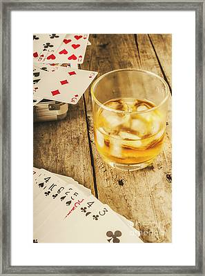 Gamblers Still Life Framed Print by Jorgo Photography - Wall Art Gallery