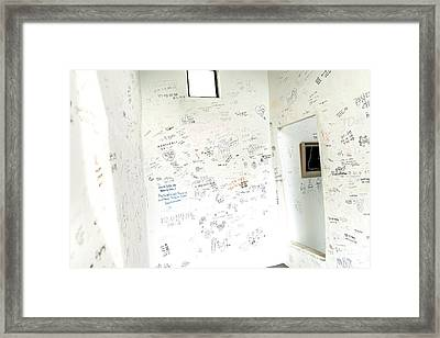 Gamcheon Culture Village Framed Print