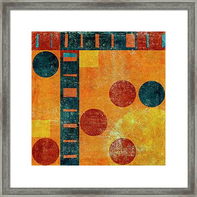 Game Board Number 2 Framed Print by Carol Leigh
