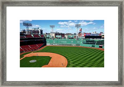 Game Day Preparations Framed Print