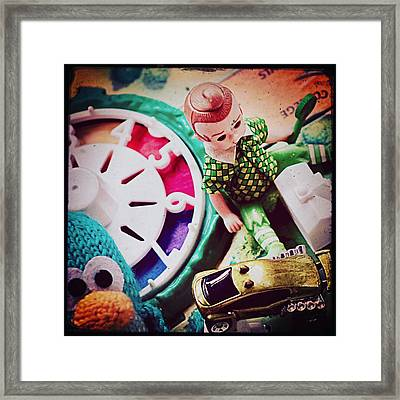 Game Of Life With Friends Framed Print