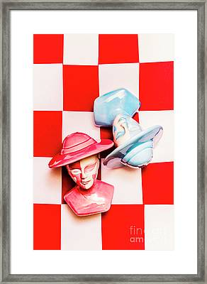 Game Of Love Framed Print by Jorgo Photography - Wall Art Gallery
