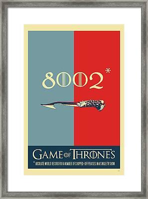 Game Of Thrones - 8002  Framed Print