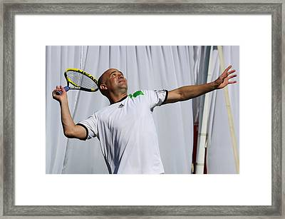 Game On Framed Print by Anne Babineau