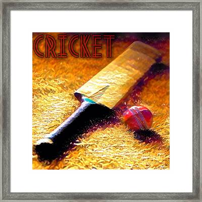 Game On Framed Print by Maria Watt