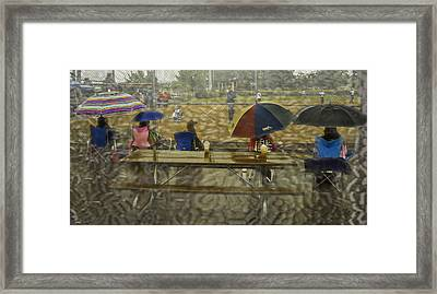 Game Watchers 2 Framed Print by Dale Stillman