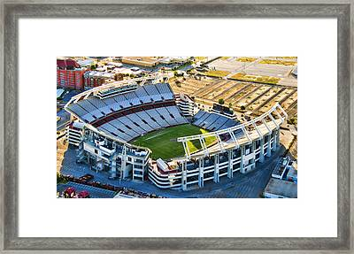Gamecock Corral Framed Print by Steven Richardson