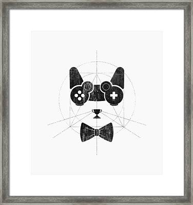 Gameow Framed Print