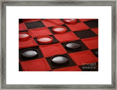 Games Framed Print by Linda Shafer