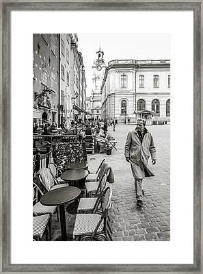 Gamla Stan Framed Print by Marius Sipa