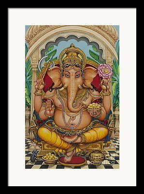 Vinayak Framed Prints