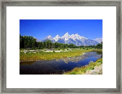 Gand Teton 42 Framed Print by Marty Koch
