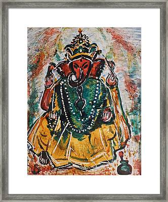 Ganesha-2 Framed Print