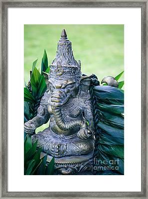 Ganesha Ganesa Ganapati Vinayaka Pillaiyar Hindu Pantheon Framed Print