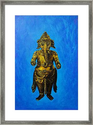 Ganesha Idol Framed Print