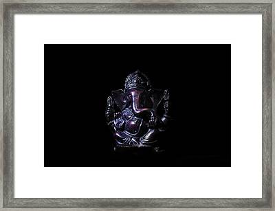 Ganesha Framed Print by Pelo Blanco Photo
