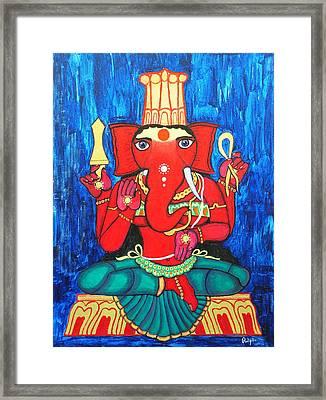 Ganeshini Framed Print