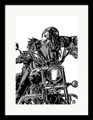Born To Be Wild Framed Prints