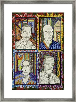 Gang Of Four Framed Print by Robert SORENSEN