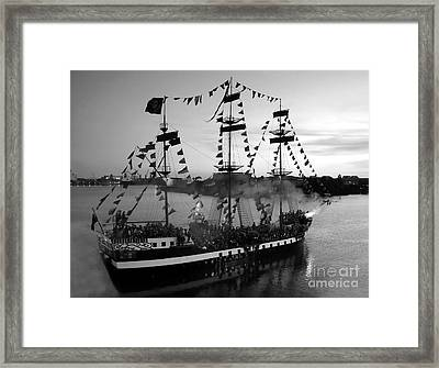 Gang Of Pirates Framed Print